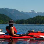 sea kayaking near Quadra Island British Columbia