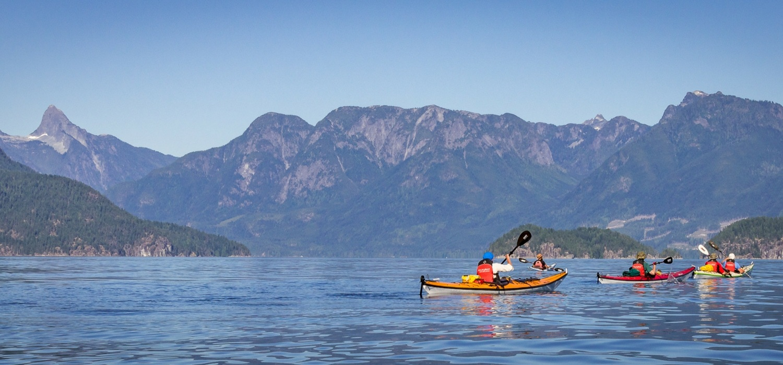 desolation sound kayaking expedition