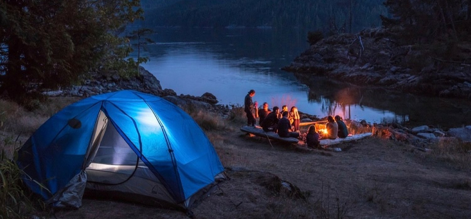 discovery islands kayaking and camping british columbia central coast